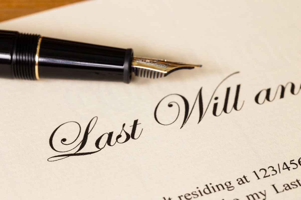 writing a will ireland